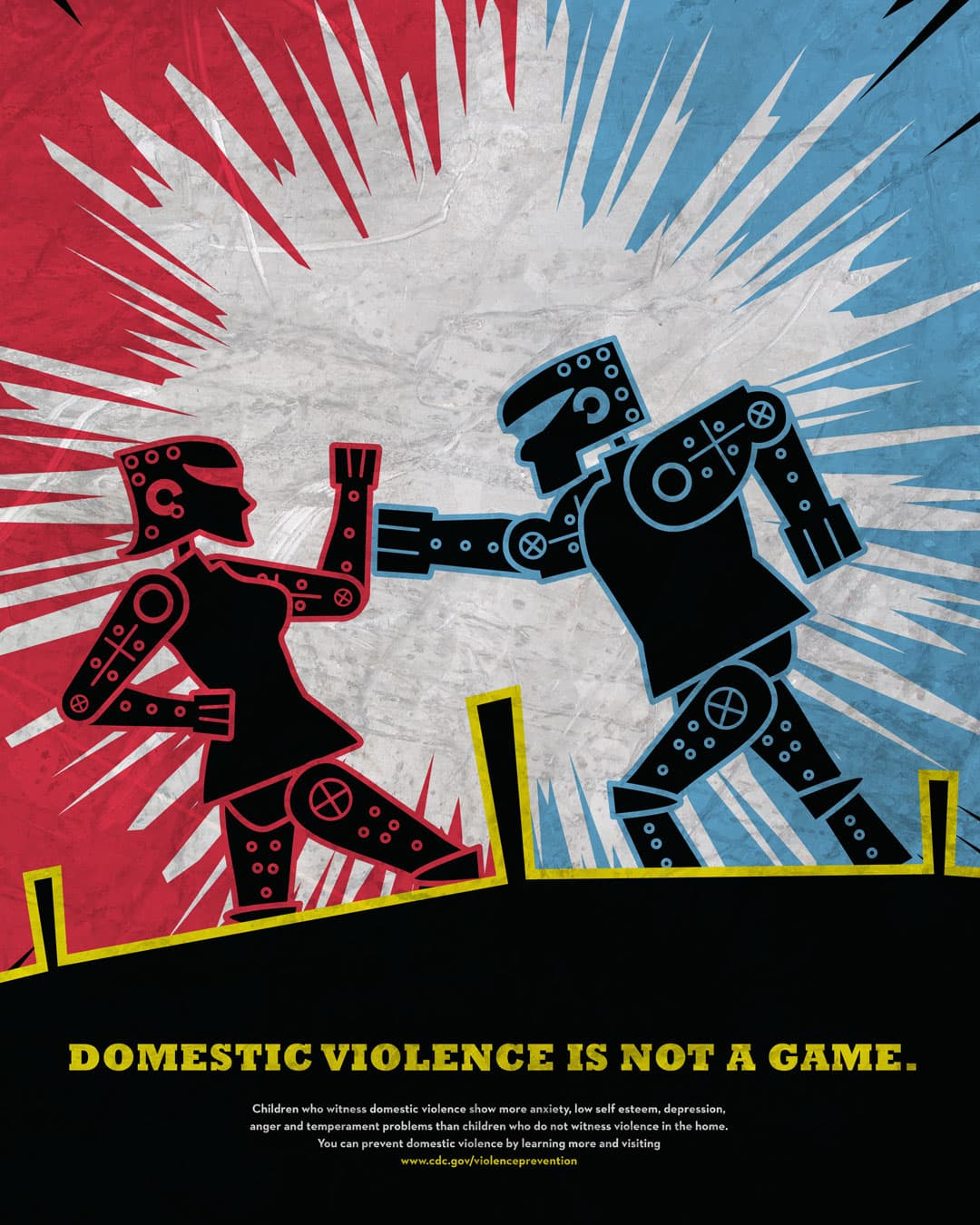 Domestic Violence CDC poster